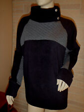 SJB ACTIVE*Womens Black/gray long sleeve casual fitness shirt*NWT Large