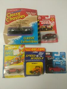 Classic Toy Cars, New, Unopened. Lot Of 5. (lot 7)