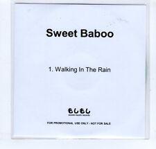 (GP68) Sweet Baboo, Walking In The Rain - DJ CD