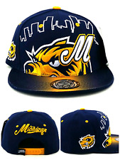 newest collection 60fc0 f58e7 Michigan New Leader Skyline Wolverines Blue Maize Gold Era Snapback Hat Cap