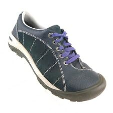 KEEN Women's Sneakers US 8.5 Presidio Navy Blue Leather Lace-Up