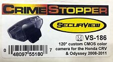 NEW Crimestopper VS-186 Custom BackUp Camera for Honda CRV & Odyssey (2009-2011)