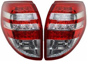 Pair Tail Lights For Toyota RAV4 10/08-12/12 New ACA33 Series2 Rear Lamp 09 11