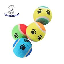 Dog  tennis ball pet  toy  for play , outdoor, fetch, bouncing, training  2ct.
