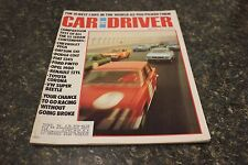 CAR AND DRIVER THE 10 BEST CARS IN THE WORD AS YOU PICKED THEM MAY 1972 9677-1