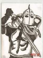 Fantasy Art Sketch Card by Stephanie Swanger /4 - Unstoppable Loaded Pack
