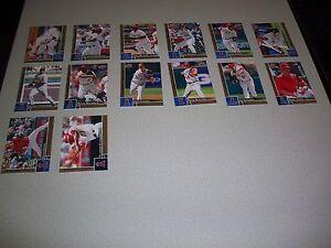 2009 Upper Deck First Edition Baseball Team Set Anaheim Angels