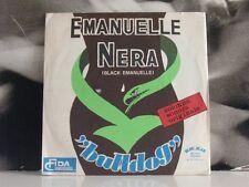 "BULLDOG - EMANUELLE NERA / ROBIN HOOD 45 GIRI 7"" SOUNDTRACK NICO FIDENCO"