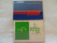 1985 Nissan Pulsar Owners Manual
