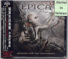 Epica: Requiem for the indifferent (2012) OBI TAIWAN CD + NOSTALGIA  SEALED