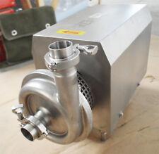 Centrifugal Pump Food Grade Sanitary Beverage Pump 110v 22kw 10tonh