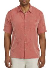 Cubavera No Tuck Button Down Jacguard Lantana Island Wear Shirt New Men's Size M