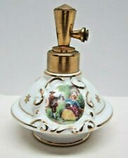 Vintage An Irice Product Hand Painted Porcelain Perfume Bottle