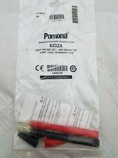 Pomona 6232A Standard 2MM Tip Modular Test Probe Set. NEW IN PACKAGE