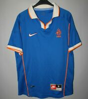 NETHERLANDS HOLLAND 1998/2000 AWAY FOOTBALL SHIRT JERSEY VINTAGE NIKE SIZE S