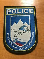 SLOVENIA PATCH POLICE SWAT SRT SPECIAL UNIT - ORIGINAL!