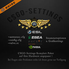 ★CSGO Steam Account MM | FACEIT | ESL Config+Startop NEW UPDATE höhere HS-quote
