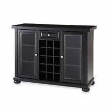 Sliding Top Bar Cabinet  Home Kitchen Liquor Decor Display Wine Bottle Storage