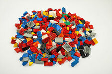 Large Job Lot of Lego Mixed Sloped Bricks Weighing 0.700 kg