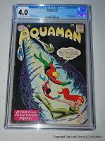 Aquaman 11 CGC 4.0 1st Appearance of Mera & Cover! Quisp Appearance KEY!