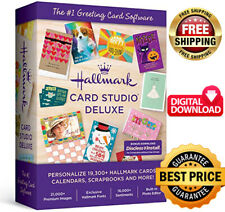 New! Hallmark Card Studio 2020 Deluxe ✅ Full Version  ✅ instant Delivery ⚡