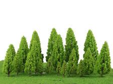 20 Green Tree Model Train Railway Wargame Diorama Landscape Scenery 1:50-400