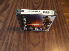 Wild Arms 2: Second Ignition (Sony PlayStation 1, PS1) Brand New -- see pictures