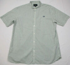 Fred Perry Overdyed Camouflage Shirt # M3130 953 Dark Blue Men SZ 2XL