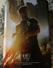 TRANSFORMERS 4 Age Of Extinction Authentic  M27x41 D/S Movie Poster.