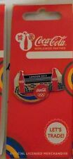 LONDON 2012 OLYMPICS COCA COLA BOTTLE SPORTS EQIPMENT SHOW JUMPING PIN BADGE