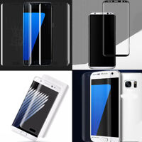1PC Clear Screen Soft Film Protector Full Cover For Samsung Galaxy S6/7/8/9/Edge