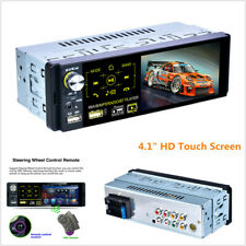 "4.1"" HD Touch Screen Car Stereo Bluetooth FM Radio MP5 Player AUX w/ Rear Camera"