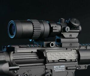 Feyachi M36 1.5X - 5X Red Dot Sight Optics MagnifierFlip to Side ***NO RESERVE**