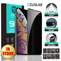 iPhone 11 Pro Max ZUSLAB Anti-Spy Tempered Glass Screen Protector for Apple