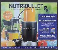 NutriBullet RX 1700-Watt 45oz Food Juice Blender Nutri-Bullet N17-1001 12 Pieces