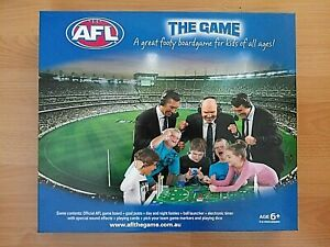 AFL The Game Board Game - Missing Electronic Timer , Whistle + Some Stickers