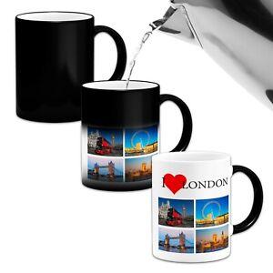I Love London Heat Colour Magic Changing Mug