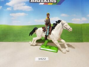 Britains ACW deetail Confederate cavalry bugler (lot 3422)