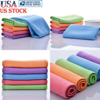 1/5 Pcs Square Tea Towels Kitchen Towels Quick Dry Hair Towel Cotton Dish Cloth