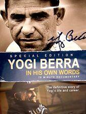 Yogi Berra: in his own words  : NEW! DVD, Baseball,New York Yankees, Derek Jeter