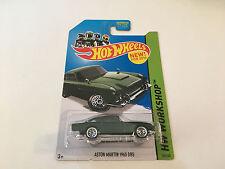 Hot Wheels Workshop Aston Martin DB5 Dark Green Diecast Car Scale 1:64