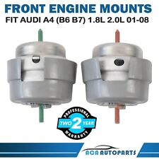 Front Engine Mount for Audi A4 B6 B7 01-08 1.8L 2.0L LH & RH Pair Auto / Manual