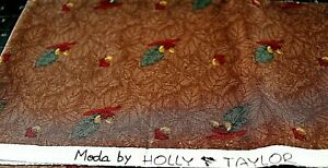 Moda by Holly Taylor One Half Yard 100% Cotton Quilt Fabric