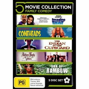 Addams Family Values / Coneheads / Imagine That / Son of Rambow / The Indian in