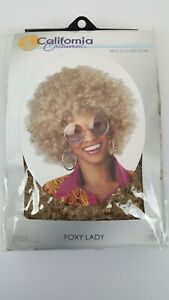 California Costumes Women's Blonde Foxy Lady Wig Brown Size One Size Halloween