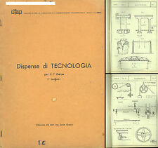 DISPENSE TECNOLOGIA 1°-TECHNOLOGY BOOK-Meccanica Metalli taglio Resistenza Leghe