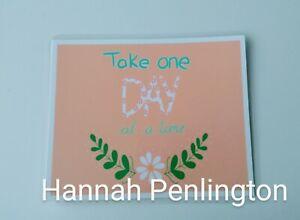 1 Small print, positivity postcard, affirmation, mental health, art, gift,