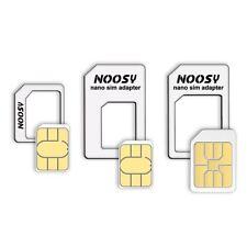 ADAPTADORES Tarjeta Nano SIM a Micro SIM Y SIM ESTANDAR MOVIL, KIT 4 EN 1