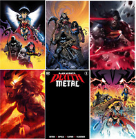 💥 DARK KNIGHTS DEATH METAL #1 (DC,2020,BATMAN) LOT OF 6 REGULAR COVERS SET💥