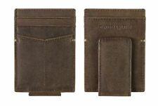 Johnston & Murphy RFID Leather Magnetic Money Clip Front Pocket Wallet 46-14092